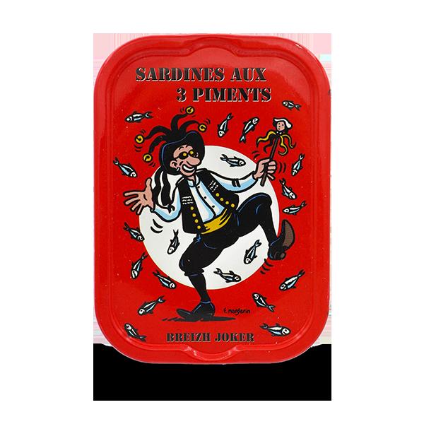 La Quiberonnaise - Sardines met 3 soorten chillipepersMillésimées 2017