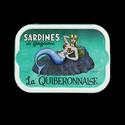 La Quiberonnaise - Sardines op olijfolie met gember Millésimées 2017