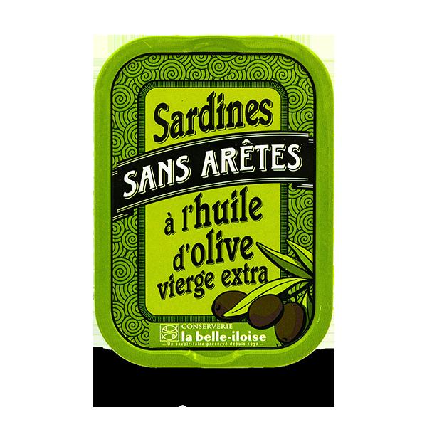 La belle-iloise - Sardines zonder graat op olijfolie Millésimées 2019
