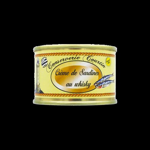 Conserverie Courtin - Sardine paté met whisky uit Schotland