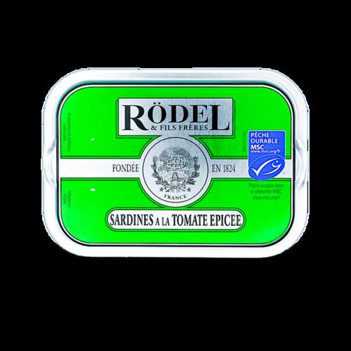 Conserverie Rödel - Sardines in kruidige tomatensaus