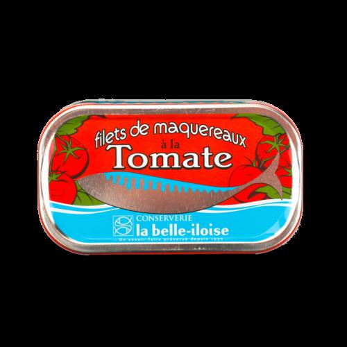 La belle-iloise - Makreelfilet in tomatensaus