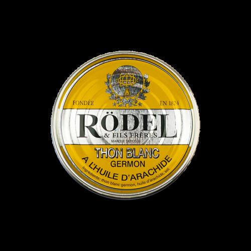 Conserverie Rödel - Witte germon tonijn in arachide olie 160 gr.