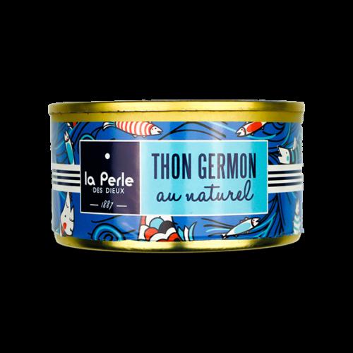 Witte germon tonijn naturel