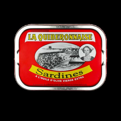 Sardines in extra vierge olijfolie