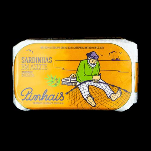 PIN1001 - Sardines op olijfolie