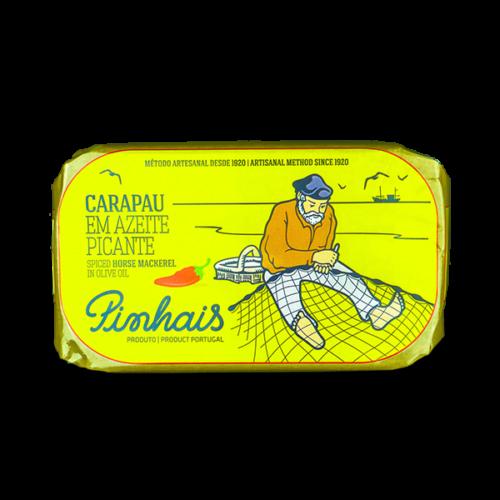 Pinhais - Pittige horsmakreel op olijfolie
