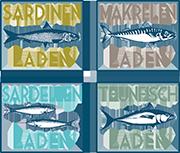 Der SARDINEN LADEN Logo