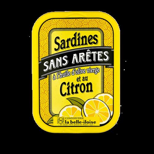 Sardinen ohne Knochen mit Zitrone