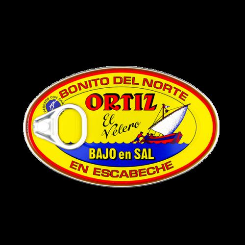 Weißer Bonito Thunfisch in Escabeche Marinade Salzarm